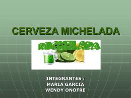 CERVEZA MICHELADA