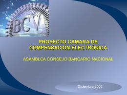 Presentación de la CCE a la Asamblea del CBN