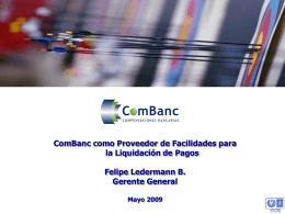 ComBanc en la Estructura de Mercado