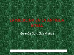 LA MEDICINA EN LA ANTIGUA ROMA file