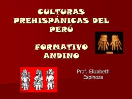 culturas prehispánicas del perú formativo inicial o temprano