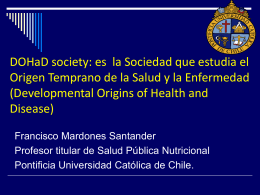 1 Sociedad DOHaD y cap. Ibero-Americano.15-7-14