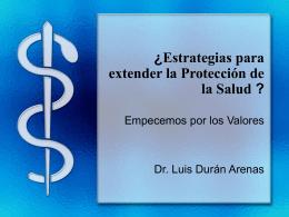 ¿Hacia Dónde Va la Salud en México?