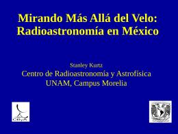 Mirando Más Allá del Velo: Radioastronomía en