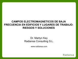 Campos electromagnéticos de baja frecuencia