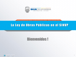 Diapositiva 1 - Gobierno del Estado de Baja California