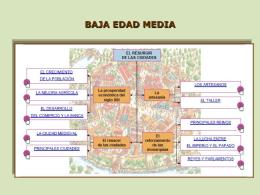 BAJA EDAD MEDIA - Historia