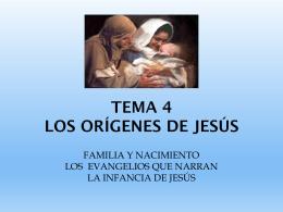 infancia de jesus - colegio del sagrado corazón