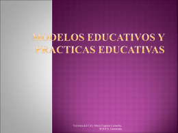 Modelos educativos (power point)