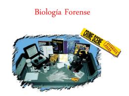 Qué es un Biólogo Forense?