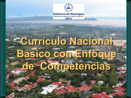 Enfoque con base en Competencias