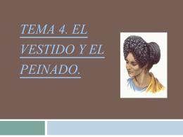 EL VESTIDO Y EL PEINADO(2)