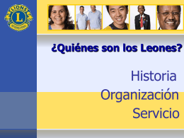 ¿Quiénes son los Leones? - Lions Clubs International