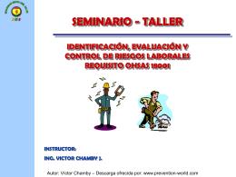 Diapositiva 1 - HIGIENE y SEGURIDAD LABORAL