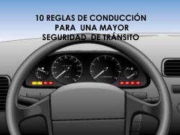 Conductores – recomendaciones