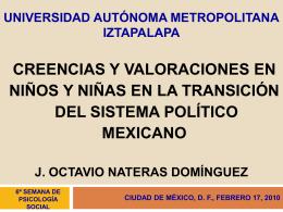 Modelo triádico, Moscovici - Universidad Autónoma Metropolitana
