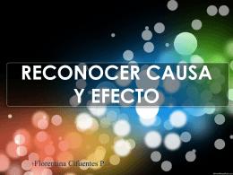 Causa y Efecto - Colegio Santa Sabina