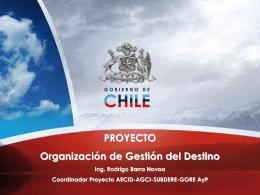Presentación  - Gobierno Regional de Arica y Parinacota