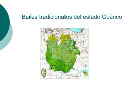 Bailes tradicionales del estado Guárico