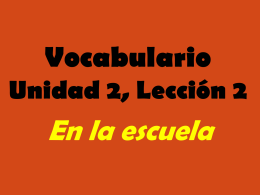 2.2 Vocabulary PPT