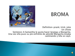BROMA - samanthasspanish5