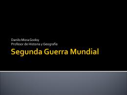 SEGUNDA GUERRA MUNDIAL (1939