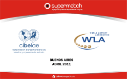 hacia el futuro - World Lottery Association