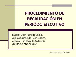 procedimiento de recaudación en periódo ejecutivo