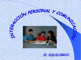 Interaccion Personal y Comunicacion