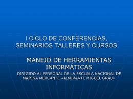 Ficha de datos - Escuela Nacional de Marina Mercante