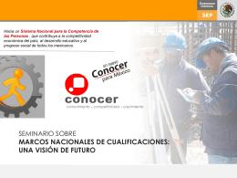 Un nuevo Conocer para México - Instituto Nacional de Formación