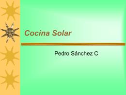 Cocina Solar katia