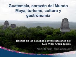 La cocina guatemalteca - Academia Culinaria Las Margaritas