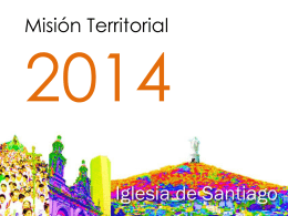 Sintesis de la Misión territorial