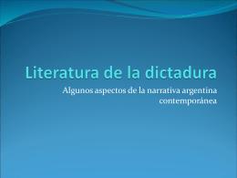 Identidad y exilio durante la dictadura militar