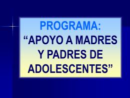 SESIÓN 1: LOS CAMBIOS DURANTE LA ADOLESCENCIA