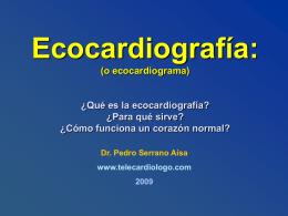 Ecocardiografia - Telecardiologo.com
