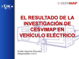 proyecto Vehículo eléctrico