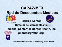 Que es CAPAZ-MEX?