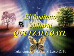 Libros Sagrados y los Sueños - Instituto Cultural Quetzalcoatl