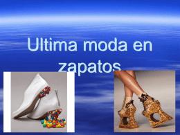 Ultima moda en zapatos