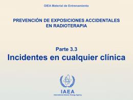 3.3 Incidentes en cualquier clínica