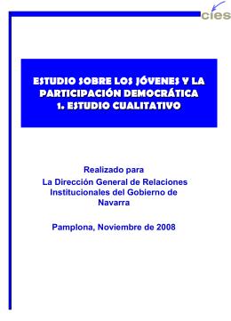 iii.4 canales de participación de los jóvenes en la democracia