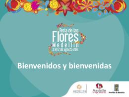 Presentación Feria de las Flores 2012