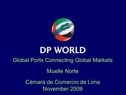 Proyecto de Modernización Integral del Terminal Portuario del