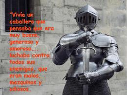 1El caballero de la armadura oxidada
