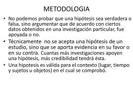 Tesis I Diseño metodologico
