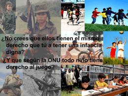 Los niños soldado
