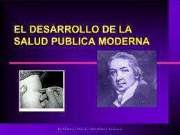 2. La Nueva Salud Publica