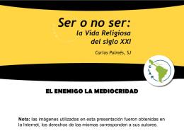 Cap VII EL ENEMIGO LA MEDIOCRIDAD
